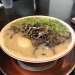 なみへい - 博多ラーメン半熟煮玉子入り(税込750円)