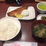 96176993 - 日替わり定食(鯖のみりん定食)
