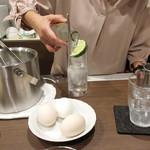カフェ&バー 琥珀 - ママさんの娘さん('18.11月上旬)