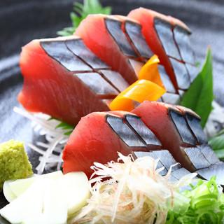 新鮮な魚介類も明神丸ならでは!!