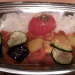 銀カレー - とまと野菜カレー
