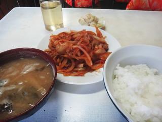 昭和食堂 - 炒り豚ライス