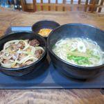風遊斎 - 料理写真:チムドン丼(B)セット(1,100円)