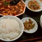 96185084 - 麻辣・麻婆豆腐の定食