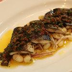 イタリア食堂 MARIA - 軽くあぶったサンマのマリネ