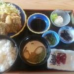 道の駅 たいじ - 鯨カツ定食 980円