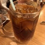 焼肉山河 - 黒烏龍茶