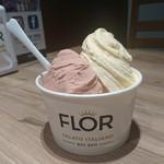 CAFE FLOR GELATO - トリプリカーレサイズ