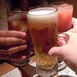 車 - 恒例の「乾杯」画像!