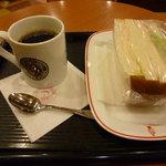 カフェ・ベローチェ - ブレンドコーヒー&ミックスサンド