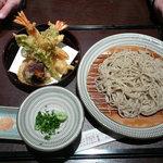 十割そば 素屋  - 天ぷらそば