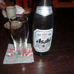 十割そば 素屋  - ビール