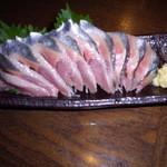 会津 - さんまの刺身