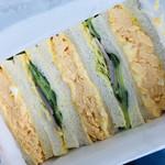 サンドウィッチ ルマン - 料理写真:野菜サンドとエッグサンドのAセットがおすすめ☆彡