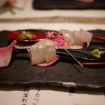 kiwa - ふなべたのお刺身