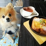 96193266 - 【2018.11】ティラミスフレンチトースト(税込800円)