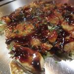 お好み ひろ - お好み焼き 牡蠣 900円