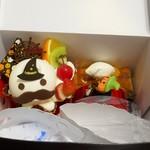96198438 - 今回購入したケーキ