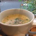 ヴァルカナイズ・ザ・カフェ - 本日のスープ。