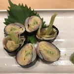 北海寿司 うに丸 - 小肌がり巻き♪