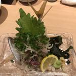 北海寿司 うに丸 - 鯵のたたき♪