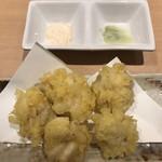 北海寿司 うに丸 - 白子の天ぷら♪