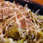 豚珍館 - マヨちゅるちゅるとかつおぶしが入って美味しすぎる(笑)高菜ライス。