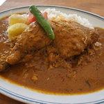 カラクタ食堂 - チキンカレー