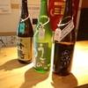 立ち呑み 福本屋 - ドリンク写真:それぞれ日本酒をオーダー