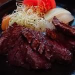 GENkatsugi - 牛ハラミ鉄板焼き (980円)