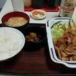 タブチ - 豚みそ炒め定食