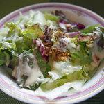 天神 クッチーナ ガッキ - ランチのサラダ