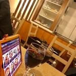 肉屋のイタリア酒場 Mario - 赤ワイン…クズマーノ¥500、パイアラロッソ¥500
