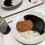 イケア レストラン - ブラックラムカツカレー  599円