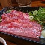 はな串 - 牛タン刺し(850円)