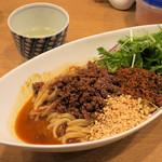 中華そば 大賀110 - 料理写真:汁なし担担麺(6辛~)950円