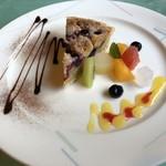 コテージ・森林村 - 料理写真:◎シェフのおまかせケーキセット830円