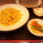 上海湯包小館 - チャーシュー炒飯セット