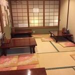 太閤寿し - 座敷席