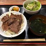 京都ホルモン 梅しん - ハラミ丼