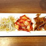 韓国料理Bibim - キムチとナムル