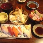 9621145 - 小樽セット(ミニ海鮮丼選択)