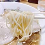 中華亭 - モッチリ細麺がなかなかシンプルに美味い
