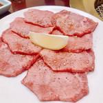 びんちょう炭焼肉 - 料理写真:『塩タン』様