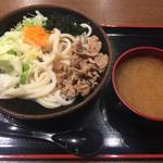 麺'ズ冨士山 - 肉つけうどん¥600(税別)