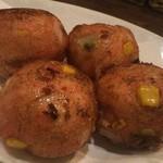 アボカフェ - アボカドと明太チーズのふんわり揚げ