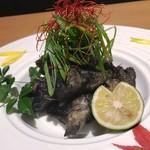 kanzenkoshitsutohonkakuwashokuouka - 厳選鶏の炭火焼き