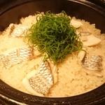 96213683 - 土鍋炊き鯛飯