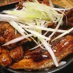 ラーメン・豚丼専門 拾丁目食堂 - セットのミニ豚丼390円