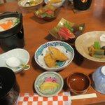 食事処まんげつ - 料理写真:お昼です
